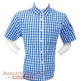 پیراهن مردانه چهارخانه کاترپیلار کد Caterpillar 402653