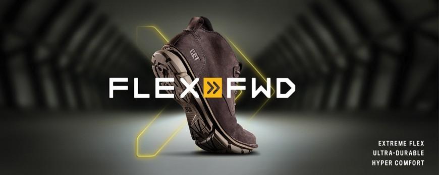 معرفی تکنولوژی جدید کفش های کاترپیلار FLEX FWD