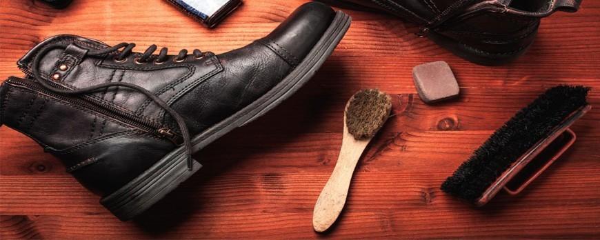 چگونه کفش های چرمی را تمیز کنیم