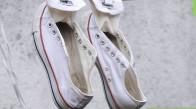 تمیز کردن کفش های converse سفید