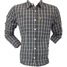 پیراهن مردانه چهارخانه کاترپیلار کد Caterpillar 402652