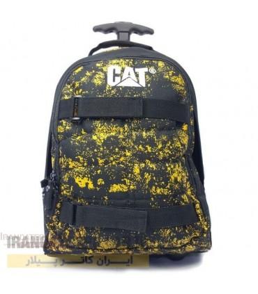 کیف چرخ دار دبستانی کاترپیلار کد Caterpillar bag 2831