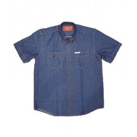 پیراهن جین آستین کوتاه مردانه کاترپیلار