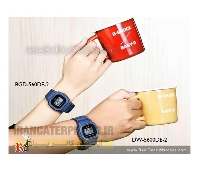 ساعت بیبی جی زنانه مدلBGD-560DE-2DR