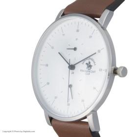 ساعت کلاسیک بند چرمی مردانه پلو مدل sb.8.1123.1