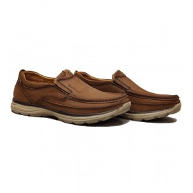 کفش مردانه طبی تمام چرم Redwood 20066-N