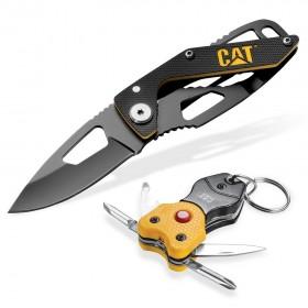 چاقوی تاشو به همراه مولتی تولز چراغ دار Caterpillar 980363