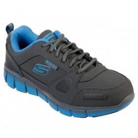 کفش ایمنی مردانه بدون محافظ اسکچرز skechers 77171/ccbl