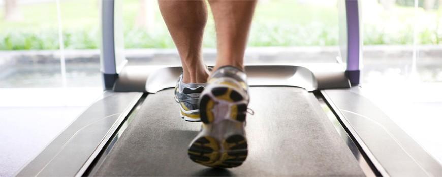 تردمیل برای ورزش و تسکین درد