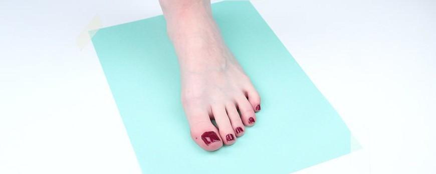 بدست آوردن سایز دقیق پا (عکس+ویدیو)