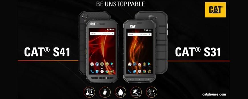 کاترپیلار از گوشی های CAT S31 و CAT S41 رونمایی کرد