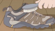 روش های تمیز کردن کفش های مرل